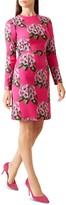 Hobbs London Bea Floral-Print Dress