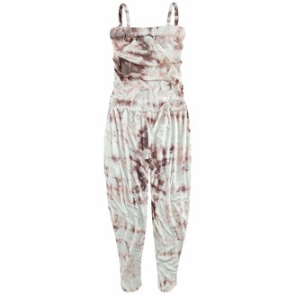 A2Z 4 Kids Kids Girls Jumpsuits Stylish Trendy Fahsion All in One Playsuit & Tees - Tie Dye 250 Jumpsuit Stone_13