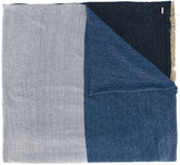 Diesel striped scarf - men - Linen/Flax/Nylon - One Size