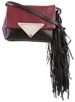 Sara Battaglia Leather Teresa Clutch