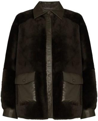 Remain Beiru reversible shearling jacket