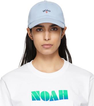 Noah NYC Blue Rugby Logo Cap