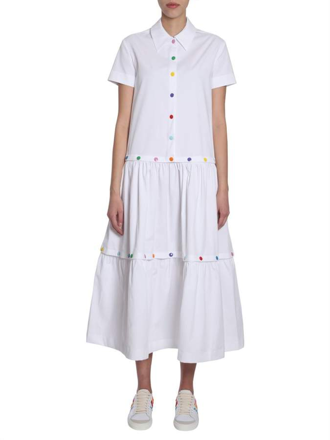 Mira Mikati Cotton Poplin Dress