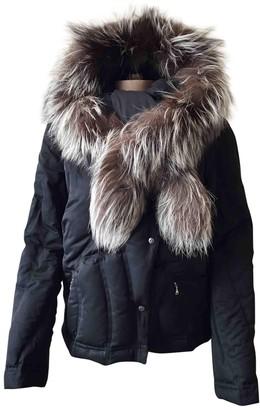 John Richmond Black Fox Coat for Women