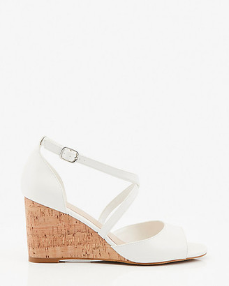 Le Château Strappy Cork Wedge Sandal