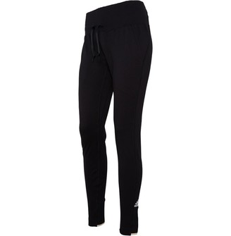 adidas Womens VRCT Fitted Sweat Pants Black