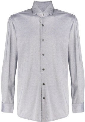HUGO BOSS Long Sleeved Pique Shirt