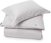 Lexington Company Lexington Sateen Stripe Flat Sheet Grey/White 240x290cm