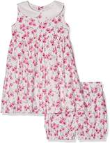 Rachel Riley Baby Girls' Rose Peter Pan Collar Bloomers Dress