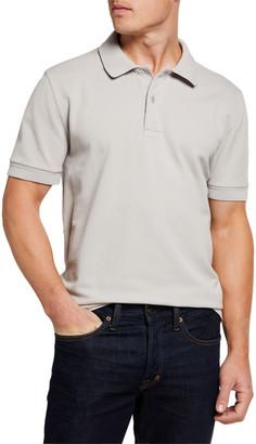 Tom Ford Men's Tennis Garment-Dyed Polo Shirt