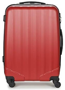 David Jones CHAUVETTA 69L women's Hard Suitcase in Red