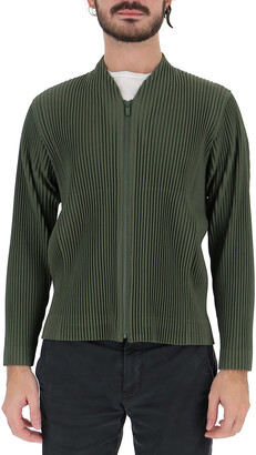 Homme Plissé Issey Miyake Pleated Zipped Jacket
