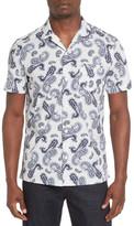 Ben Sherman Paisley Print Modern Fit Shirt