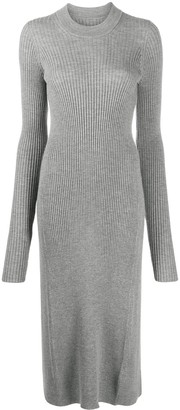 Maison Margiela Open Back High-Low Hem Jumper