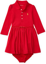 Ralph Lauren Cotton Polo Dress & Bloomer