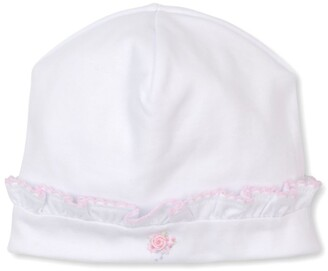 Kissy Kissy Flower Embroidered Hat