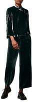 Toast Silk Velvet Trousers, Slate