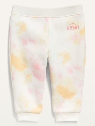 Old Navy Logo-Graphic Tie-Dye Jogger Sweatpants for Baby