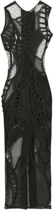 Christopher Esber Tropic Crochet Tank Dress