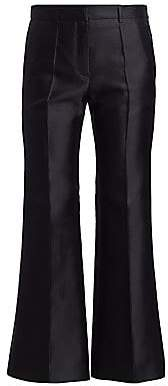 Givenchy Women's Wide Cropped Wool & Silk Trousers