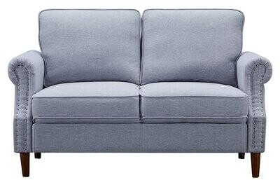 Thumbnail for your product : Winston Porter Eucalyptus Frame Living Room Two-Seat Sofa