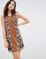 Only Geo-Tribal Print Shift Dress