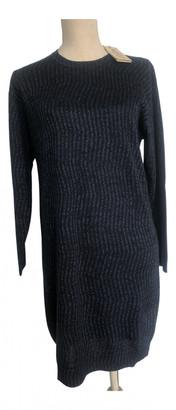 Kenzo Blue Wool Dresses