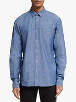 Scotch & Soda Cotton Shirt, Combo Blue