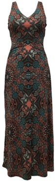 INC International Concepts Inc Petite Printed Maxi Dress, Created for Macy's