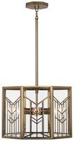 Rob-ert Octavius 4 - Light Unique / Statement Geometric Chandelier Robert Abbey Finish: Modern Brass
