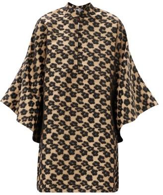 La Vie Style House - Leopard-jacquard Kaftan - Leopard