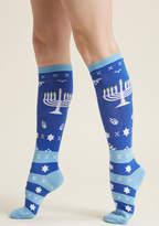 ModCloth Mazel Toes Knee Socks - Size OS