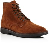 Frye Arden Suede Lace Up Boots