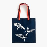 J.Crew for the Wildlife Conservation Society whale tote