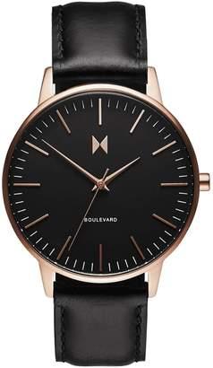MVMT Boulevard Venice Stainless Steel Mesh Bracelet Watch