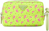 Prada watermelon print make-up bag