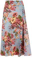 Emilia Wickstead Barnaby Floral Skirt