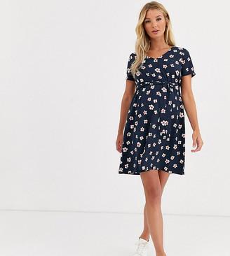 Mama Licious Mama.Licious Mamalicious floral tea dress