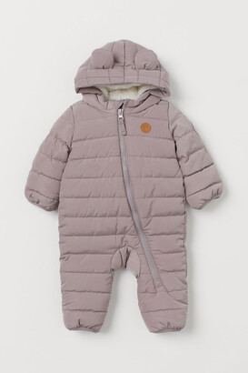 H&M Padded Snowsuit - Brown