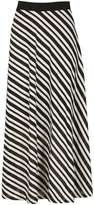 Izabel London *Izabel London Multi Coloured Stripe Midi Skirt