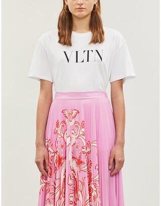 Valentino Logo-print cotton-jersey T-shirt