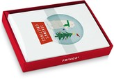 Fringe Whimsy Snow Globe Holiday Cards, Box of 18