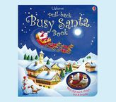 Pottery Barn Kids Pull Back Busy Santa Book