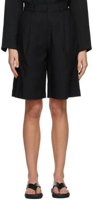Esse Studios SSENSE Exclusive Black Tailored Shorts