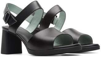 Camper Kara Block Heel Leather Sandal