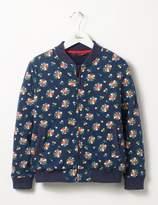 Boden Floral Bomber Jacket