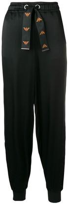 Emporio Armani Drawstring Waist Trousers