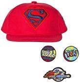 Fabric Flavours Superman Interchangeable Badge Cap