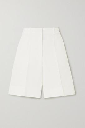 Victoria Victoria Beckham Cotton-blend Shorts