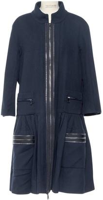 Chanel Navy Cotton Coats